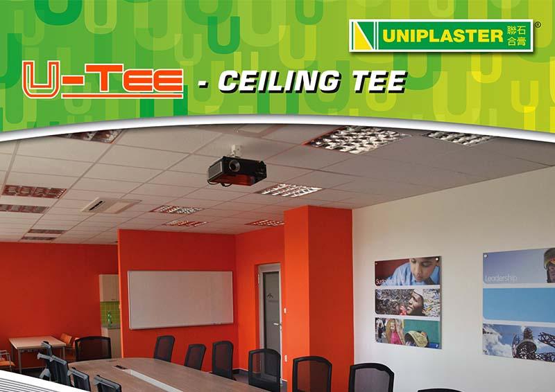 Uniplaster – U-Tee Leaflet Front